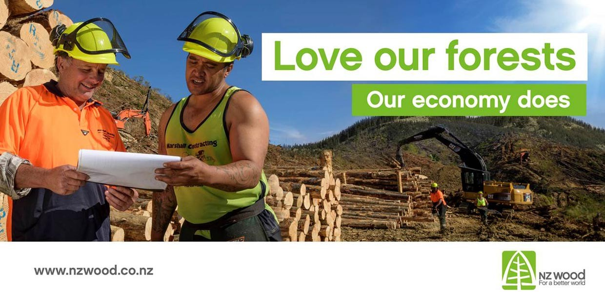 Love our Forests - our economy does
